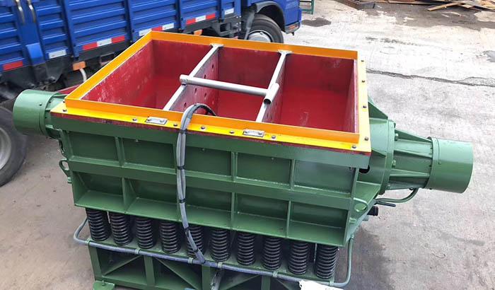 rectangular linear tub vibratory tumbling finishing machine