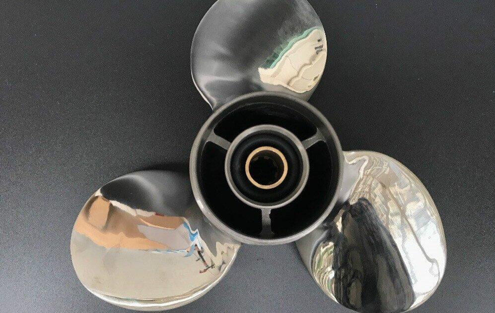 stainless steel boat propeller polishing