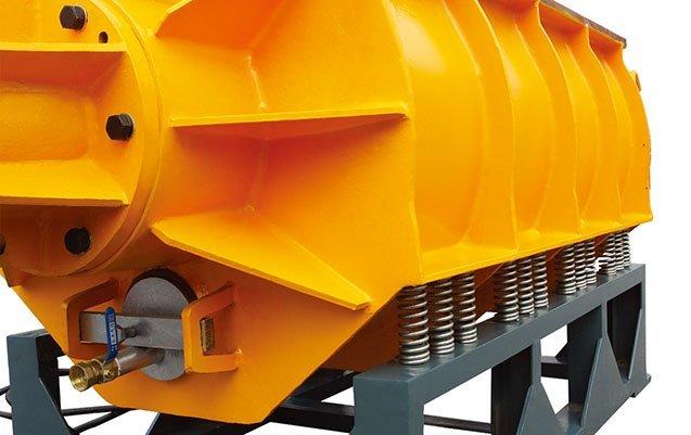 tub linear vibratory finisher equipment