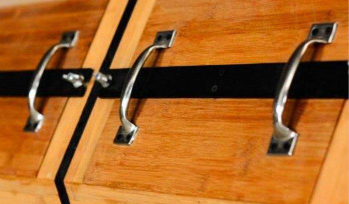 wood dry polishing barrel machine handle
