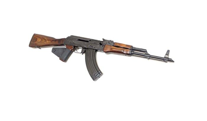 AK47 gun barrel polishing