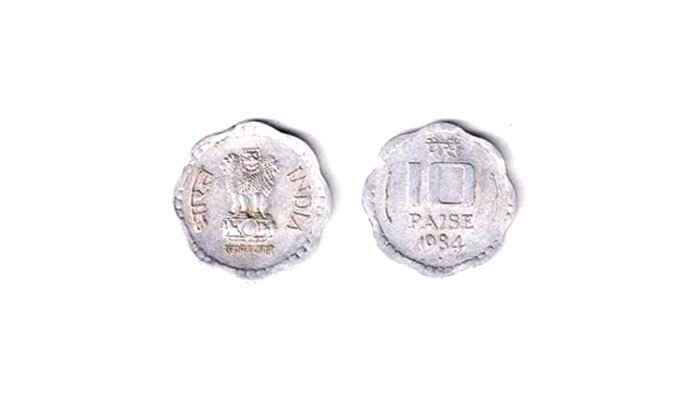 Aluminium coins polishing