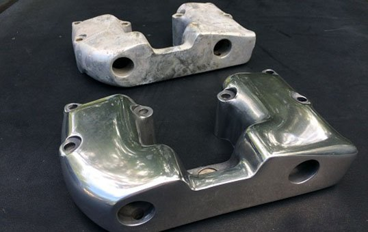Aluminum Engine Parts Polishing
