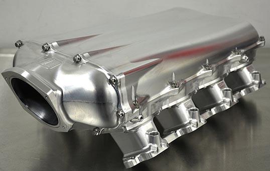 Billet Aluminum Intake Manifold Polishing