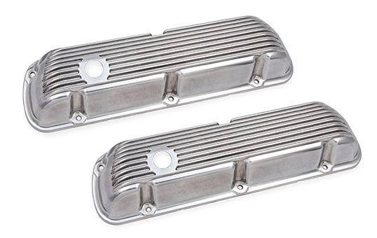 Cast Aluminum Valve Covers Polishing