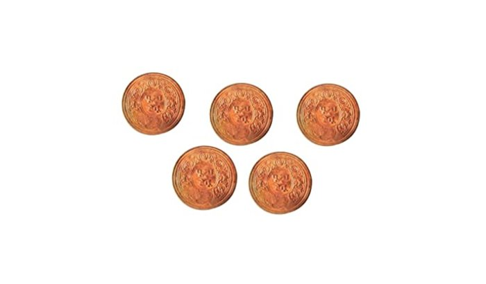 Copper Coins polishing