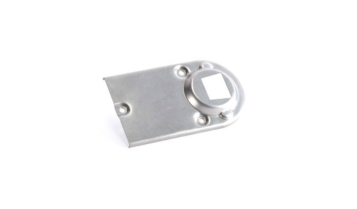 Deburring stainless steel laser cut part