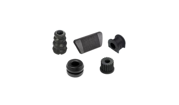 Deflashing automotive rubber parts