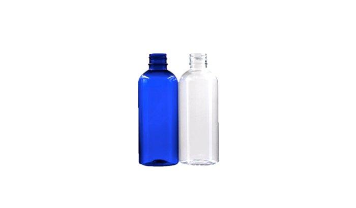 Deflashing plastic bottles