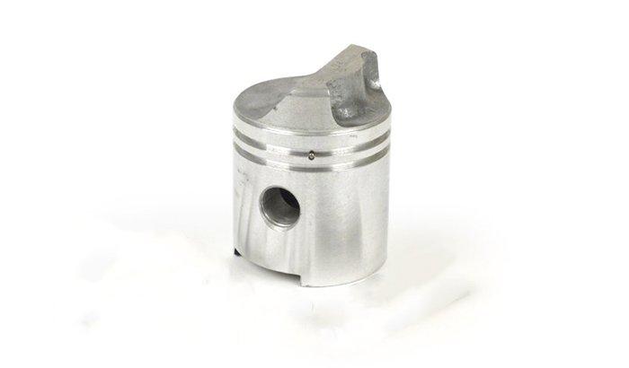 Deflector piston polishing