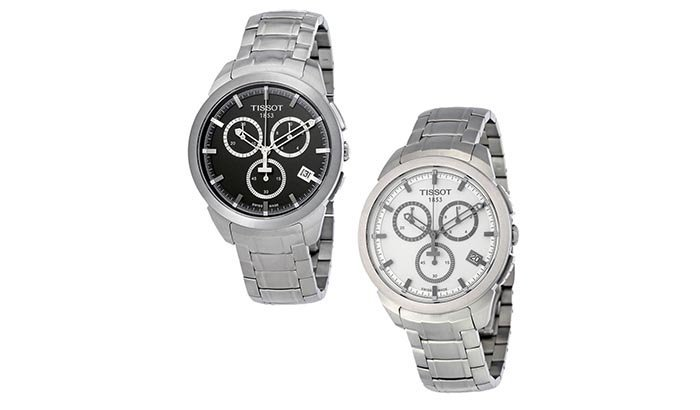 Figure 5 - polished titanium watch