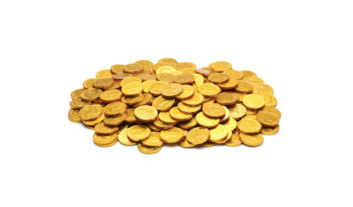 Gold Coins polishing