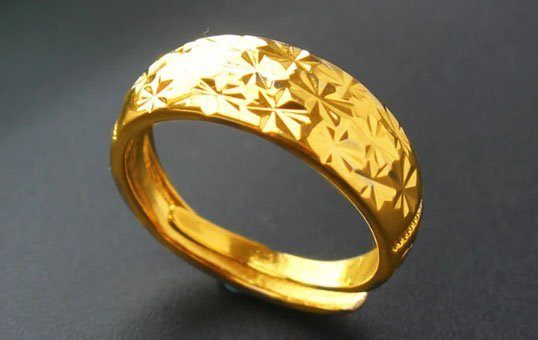 Gold Ring Polishing