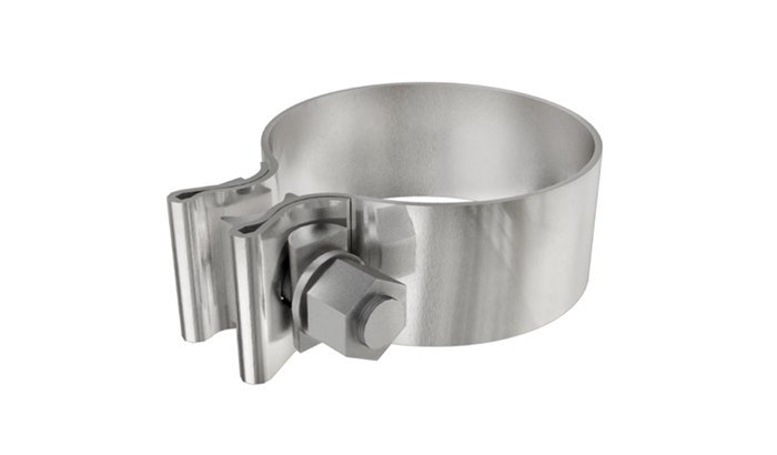Polishing Exhaust clamps
