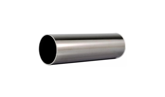 Polishing Nickel alloy exhaust pipe