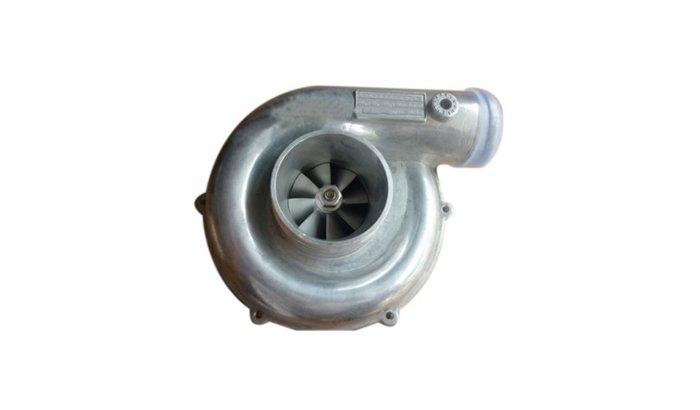 Polishing aluminum turbo parts