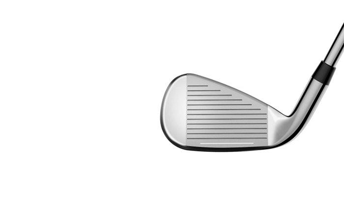 Polishing iron golf club