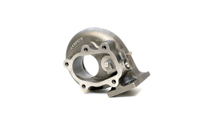 Polishing stainless steel turbo part
