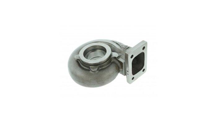 Polishing titanium turbo parts
