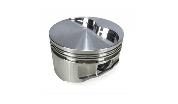 Racing piston polishing