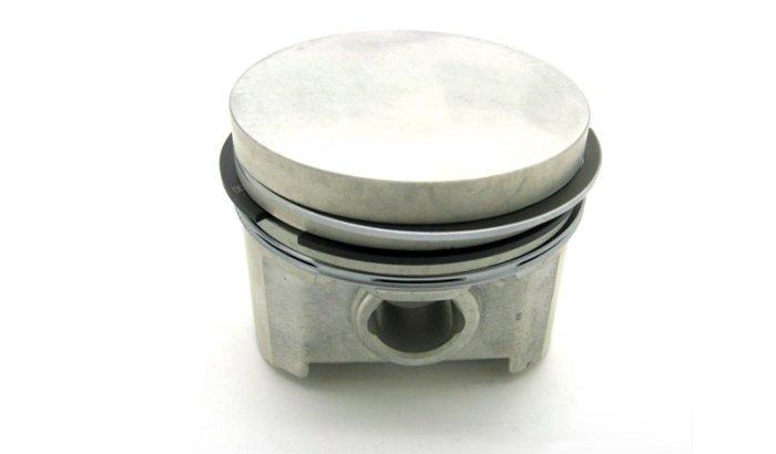 Slipper piston polishing