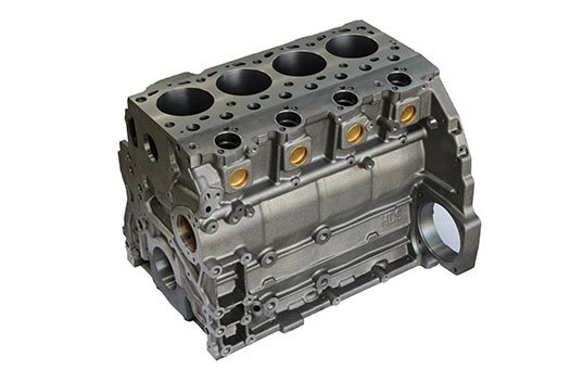 Stainless Steel Engine Block Polishing
