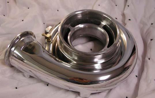 aluminum turbo polishing