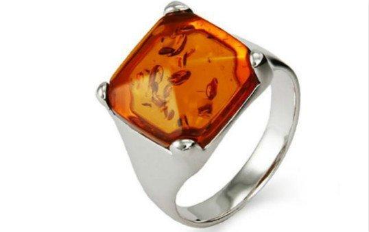 amber rings polishing