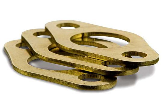 brass laser cut parts deburring