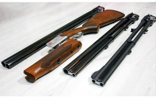 double barrel shotgun barrel polishing