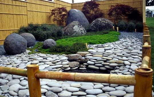 gardening stone polishing