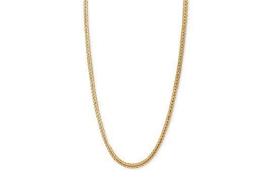 gold necklace polishing