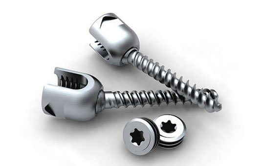 medical screw and bolts polishing