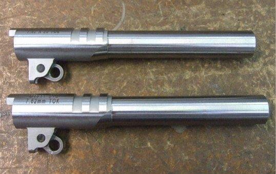pistal barrel parts polishing