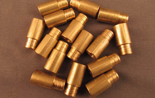 smith carbine brass cartridge cases polishing