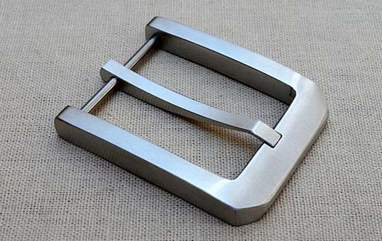 stainless steel belt buckle polishing