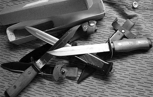 tactical knives polishing