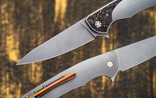 titanium knives polishing