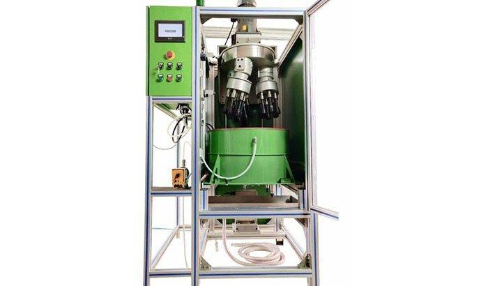 Drag Finish Machine for turbine blade polishing