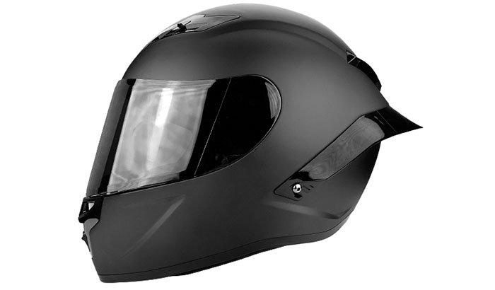 Figure 4 - Polished Full Face Helmet