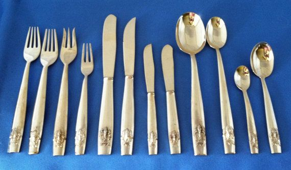 Figure 6 - Burnished Antique Silverware