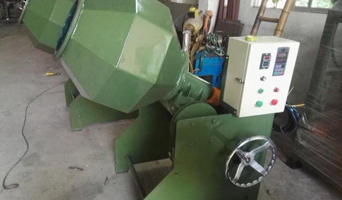 Barrel Tumbling Machine