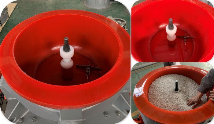 wheel polishing machine bowl